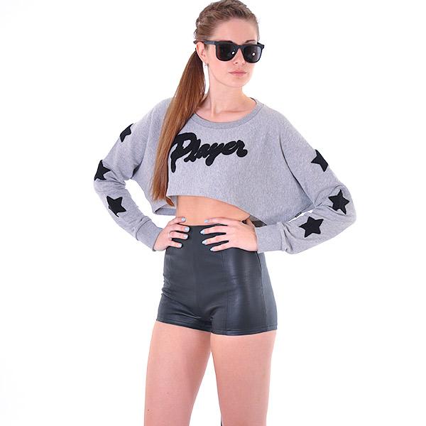 Tričko Top Adidas Originals Cropped Top MGREYH - Adidas Originals