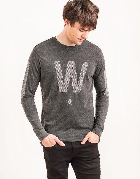 Tričko Triko WeSC W Dot Star Black - WeSC