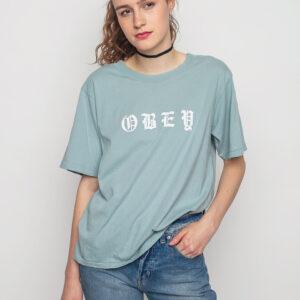 Tričko Logo tee Obey Olde Obey Dusty Mineral - Obey
