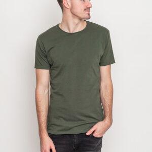Tričko Jednobarevná RVLT 1003 Tee Army - RVLT