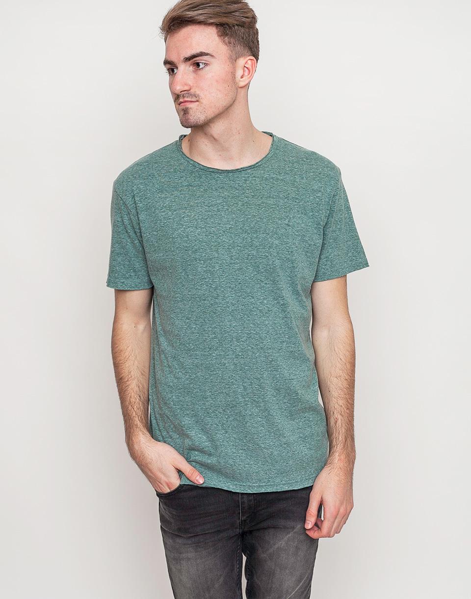 Tričko Jednobarevná RVLT 1003 Tee Green - RVLT