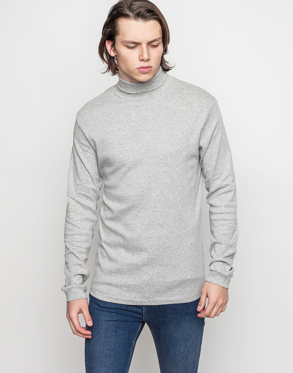 Tričko Jednobarevná RVLT 1009 Tee Light Grey - RVLT