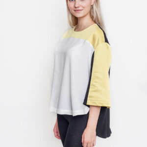 Tričko Top WeSC Aurore savannah yellow - WeSC