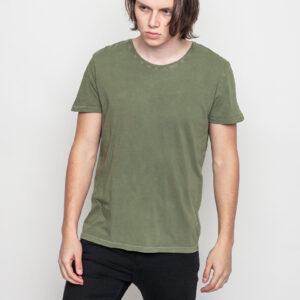 Tričko Jednobarevná RVLT 1006 Tee Army - RVLT
