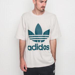 Tričko Logo tee Adidas Originals Boxy Clear Brown - Adidas Originals