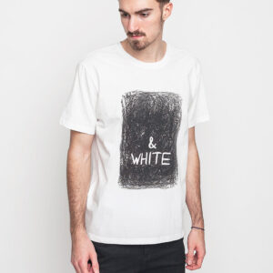 Tričko Triko Art of Scribble White Off White (WH) - Art of Scribble