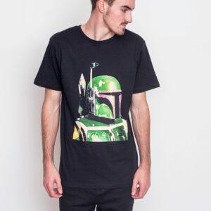 Tričko Triko Dedicated Star Wars Boba Fett Black - Dedicated