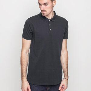 Tričko Jednobarevná Selected Damon Black - Selected