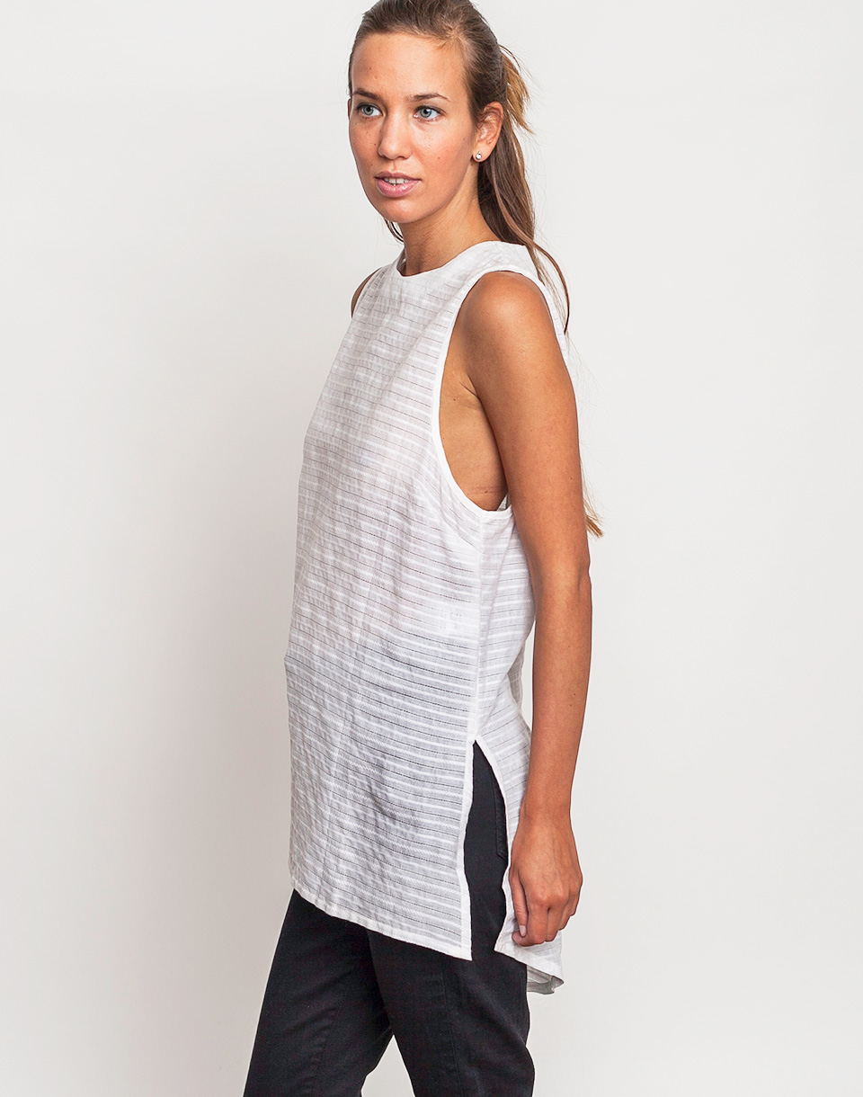 Tričko Top Native Youth STITCH TUNIC White - Native Youth