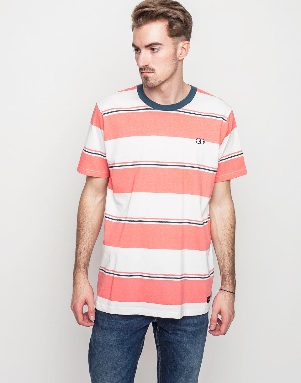 Tričko Triko Lazy Oaf Wide Stripes White - Lazy Oaf