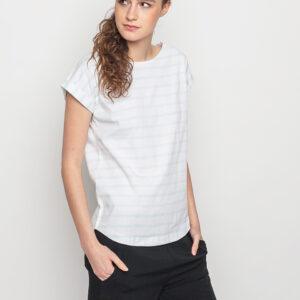 Tričko Triko Wemoto Bell Stripe White - Mint - Wemoto