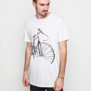 Tričko Triko Dedicated Sketch Bike White - Dedicated