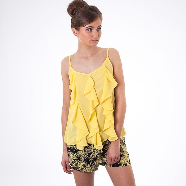 Tričko Top Cutie C4847 yellow - Cutie