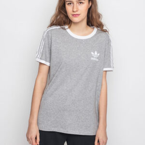 Tričko Triko Adidas Originals 3 Stripes Medium Grey Heather - Adidas Originals