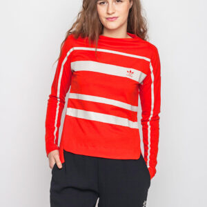 Tričko Triko Adidas Originals Long Sleeve Core Red - Adidas Originals