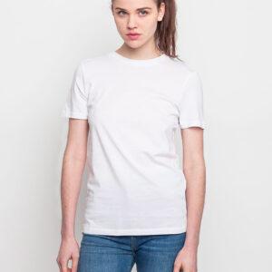 Tričko Jednobarevná Selected Perfect White - Selected