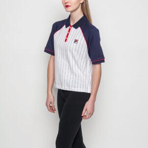 Tričko Logo tee Fila La Polo Shirt 100 White - Fila