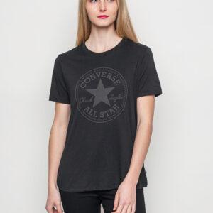 Tričko Jednobarevná Converse Puff CP Crew Black - Converse