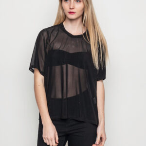 Tričko Top Dr. Denim Lilo Black - Dr. Denim