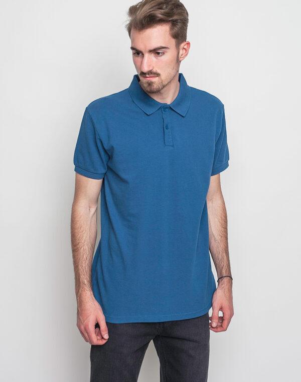 Tričko Polo triko RVLT 1007 Tee blue - RVLT