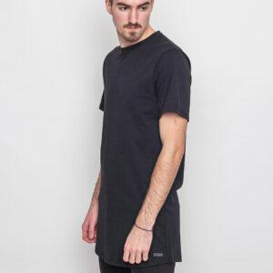 Tričko Jednobarevná DRMTM Long T-Shirt Black - DRMTM