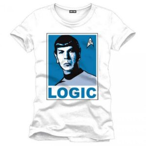 Tričko Star Trek - Logic white