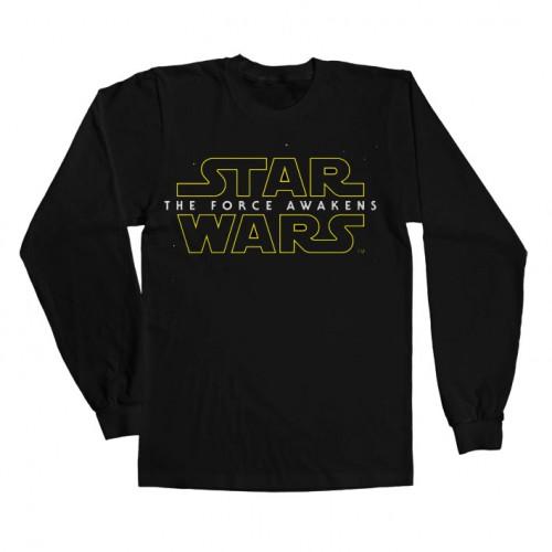 Tričko s dlouhými rukávy Star Wars - The Force Awakens Logo