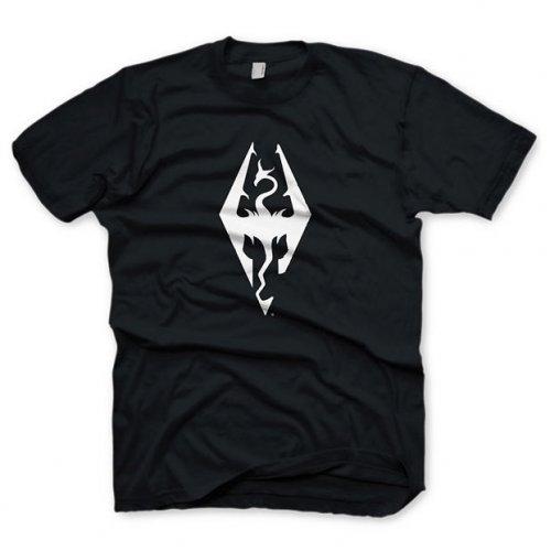 Tričko Skyrim - Drak