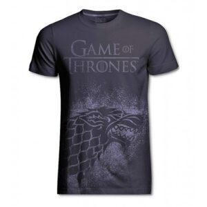 Tričko Game of Thrones - Stark (stříbrné)