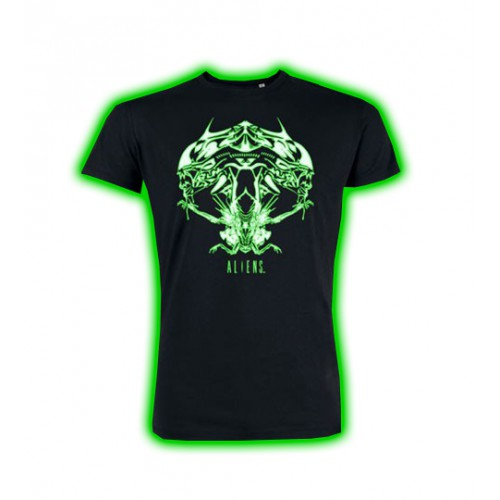 Tričko Alien - Tribal Queen (svítící)