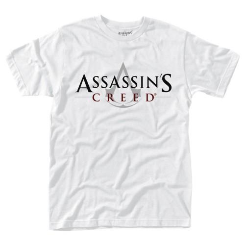 Tričko Assassins Creed - Bílé logo