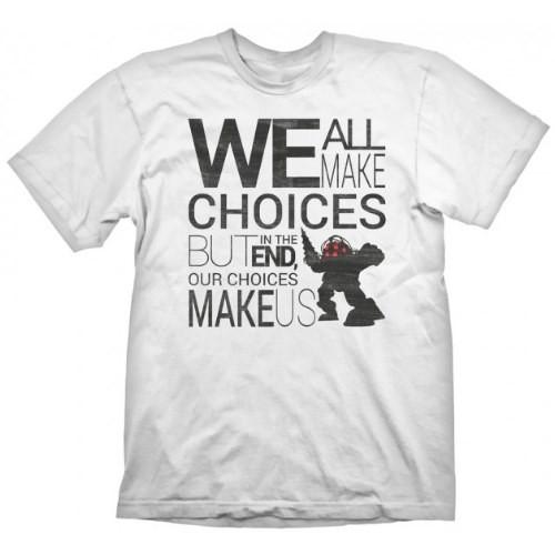 Tričko BioShock - Quote Vintage