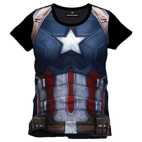 Tričko Captain America Civil War Cap Chest