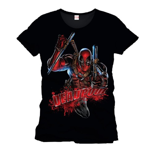 Tričko Deadpool - Bloody Attack