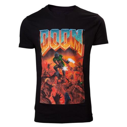 Tričko Doom Classic Box Art