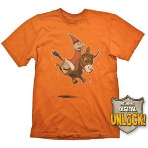 Tričko DOTA 2 - Wizard & Donkey + Ingame-Code
