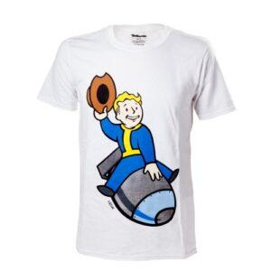 Tričko Fallout 4 - Vault Boy Bomber