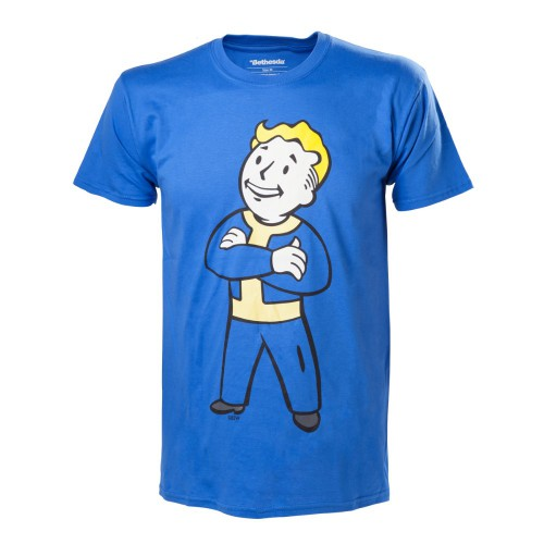 Tričko Fallout 4 - Vault Boy with Crossed Arms