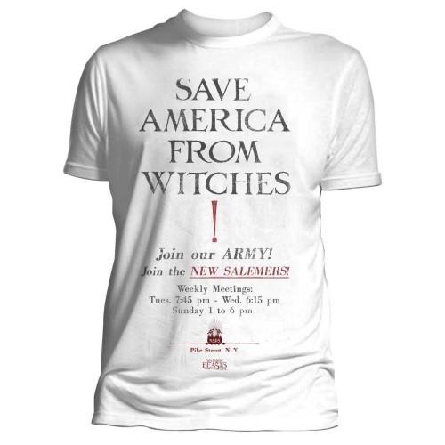 Tričko Fantastická zvířata - Save America