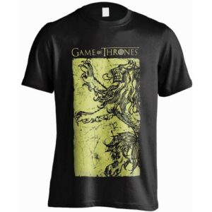 Tričko Game of Thrones Lannister Gold