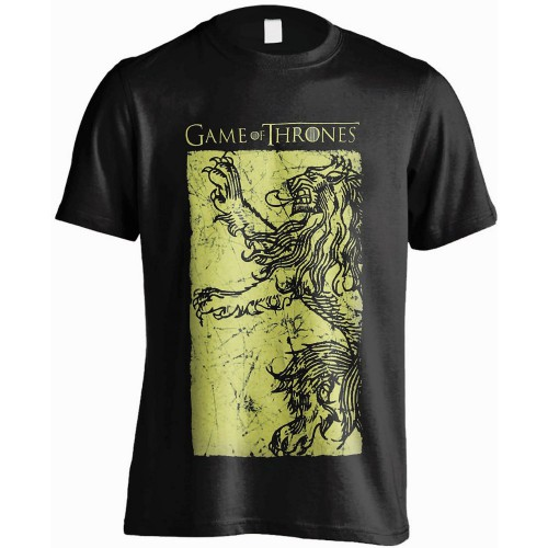 Tričko Game of Thrones Lannister Gold