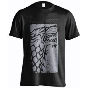 Tričko Game of Thrones Stark Charcoral
