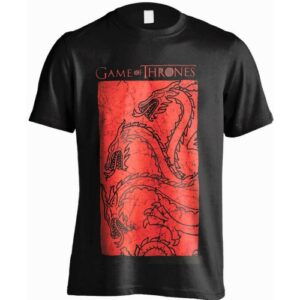Tričko Game of Thrones Targaryen Red