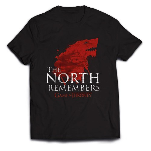 Tričko Game of Thrones - The North Remembers