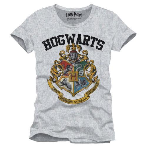 Tričko Harry Potter s erbem Bradavic