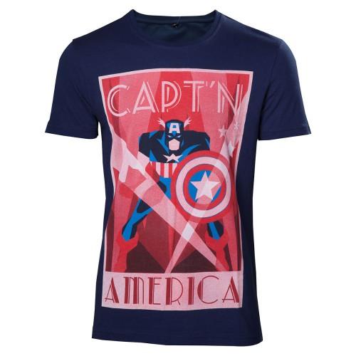 Tričko Marvel Captain America Shield Up