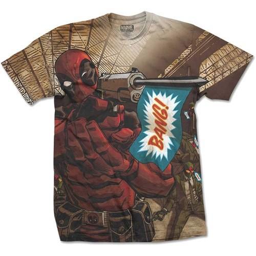 Tričko Deadpool - Bang