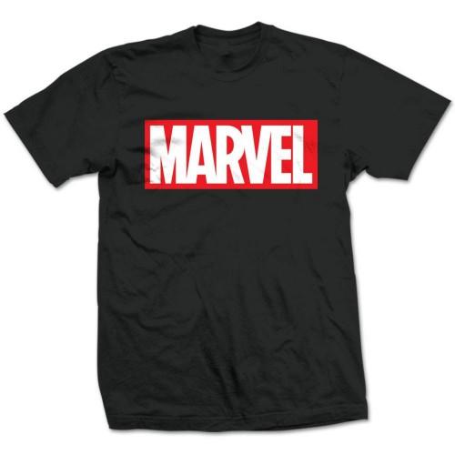 Tričko Marvel Comics Box Logo