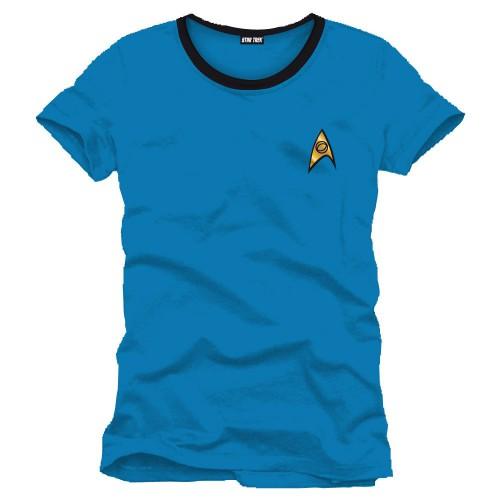 Tričko Star Trek - Uniform Blue