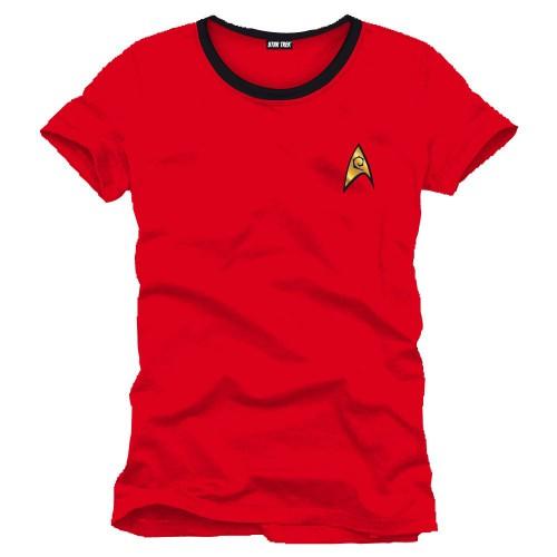 Tričko Star Trek - Uniform Red